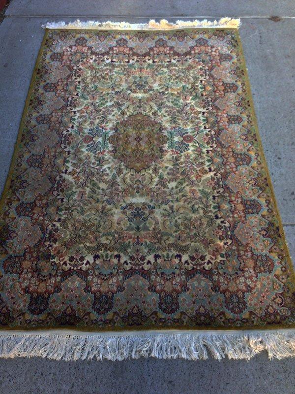 12B: Stunning Vintage Handmade Oriental Rug