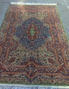 Beautiful Handmade Vintage Oriental Rug