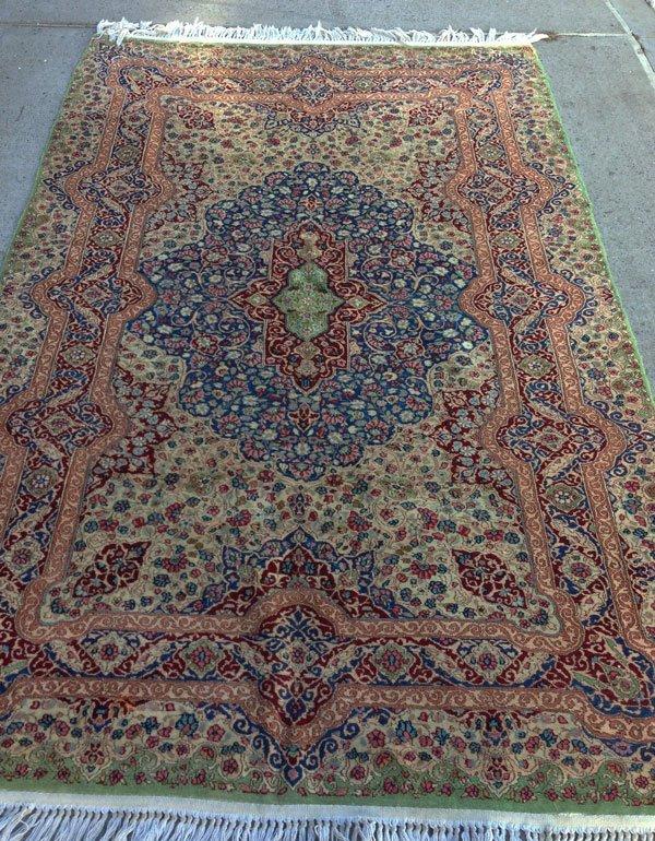 10B: Beautiful Handmade Vintage Oriental Rug