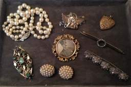 Wonderful Lot Of  Assorted Victorian Jewelry