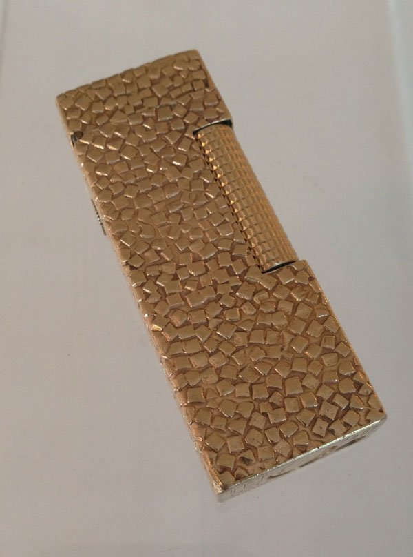 Madmen 14k Yellow Gold Jacketed Dunhill Lighter