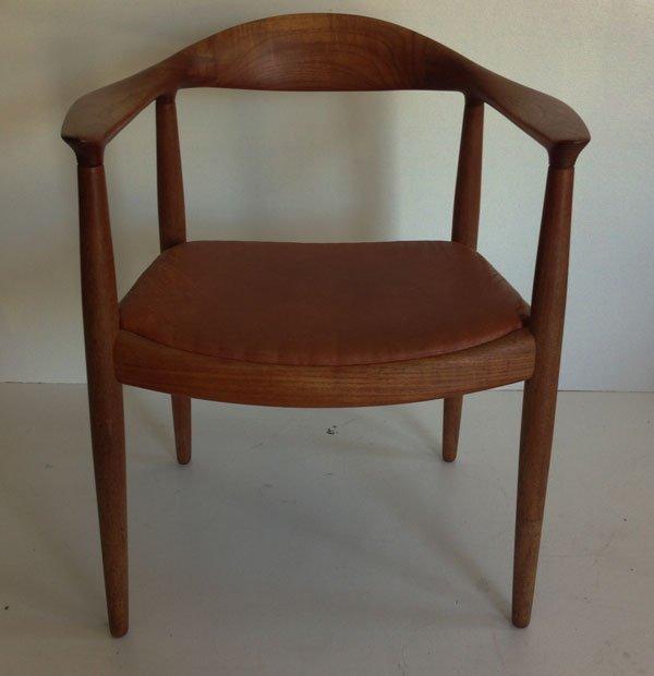 6 Hans Wegner / Johannes Hansen Teak Dining Chairs