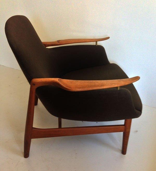 Finn Juhl Lounge Chair Model NV-53 Niels Vodder 1953
