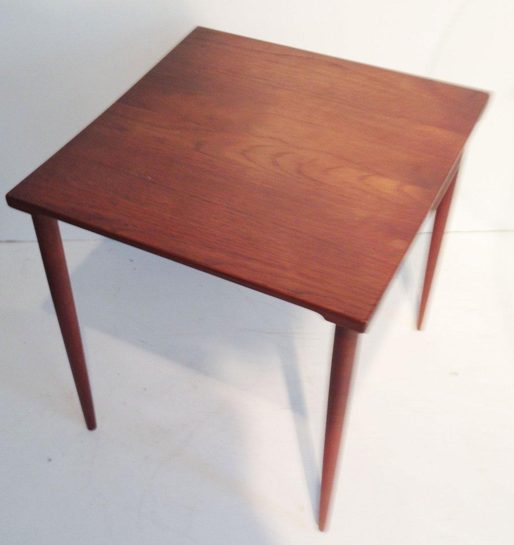 Signed France & Son Danish Modern Side Table