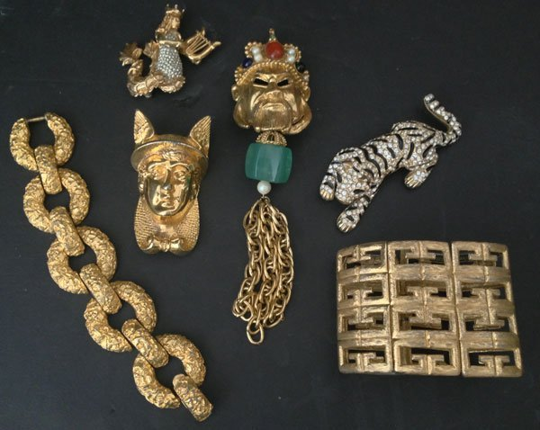 Lot Of Signed Costume Jewelry ( Lane, Lieber , Rader )