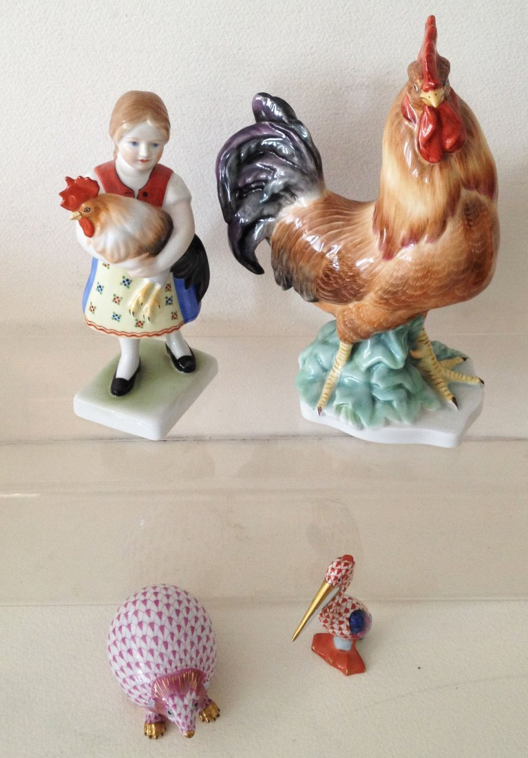 Herend Porcelain Figurine Collection