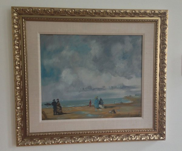 Jean P Guyon Painting of French Riviera