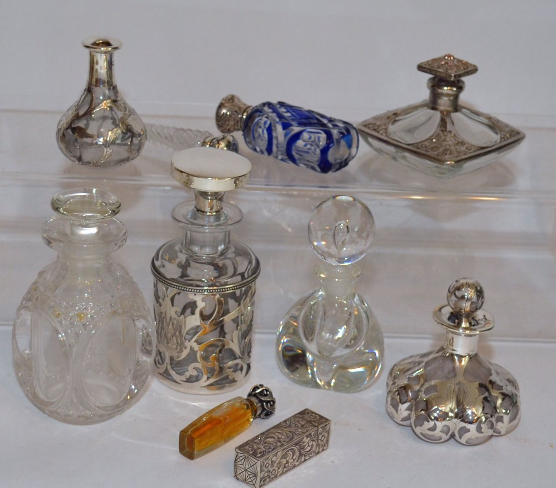 Collection Sterling Silver Perfume Bottles
