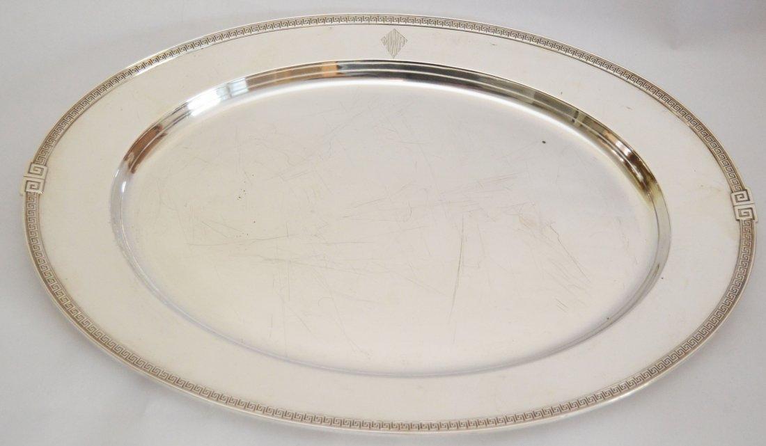 Gorham Sterling Silver Etruscan Oval Platter