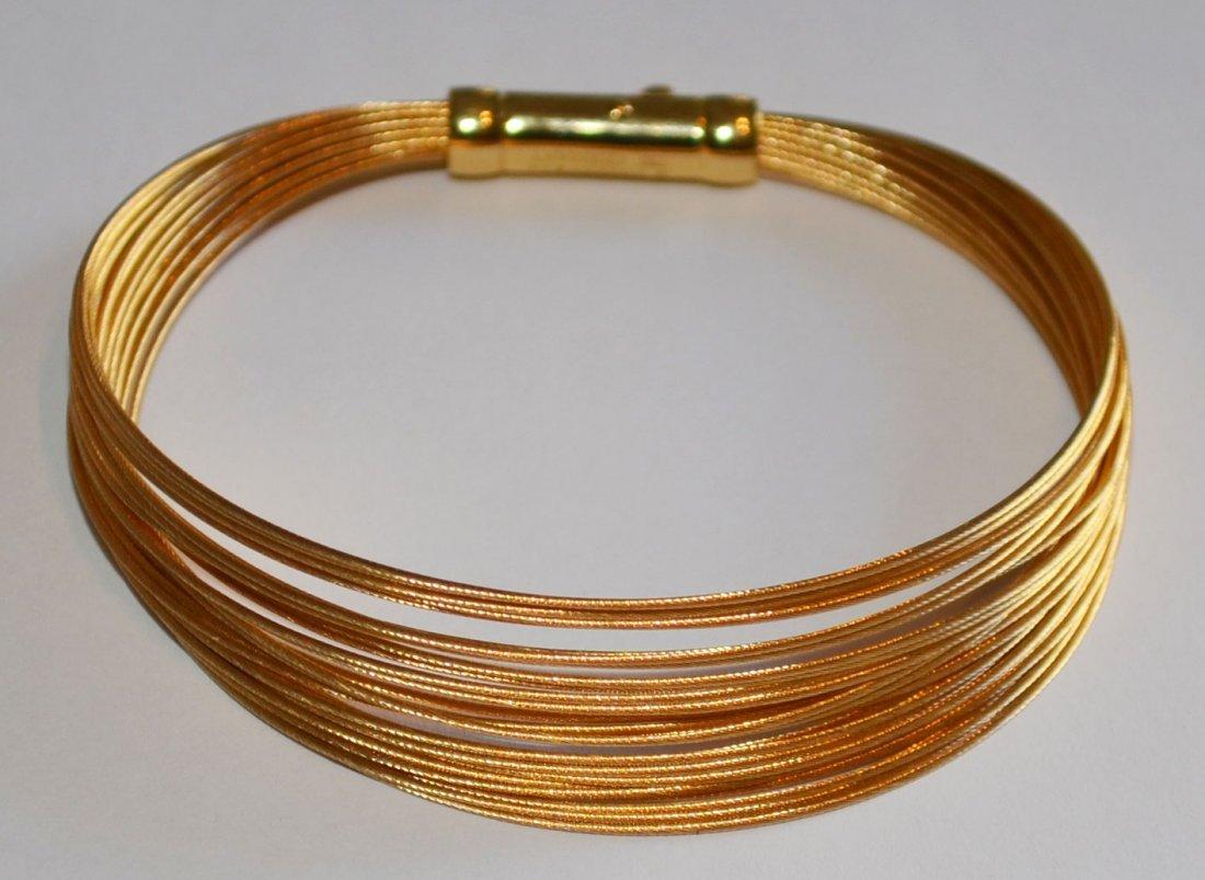 Tiffany & Co 18k Cable Wire Bracelet