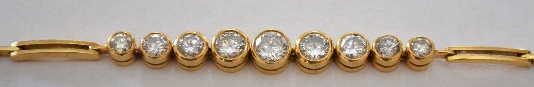 18k Gold & Diamond Bracelet