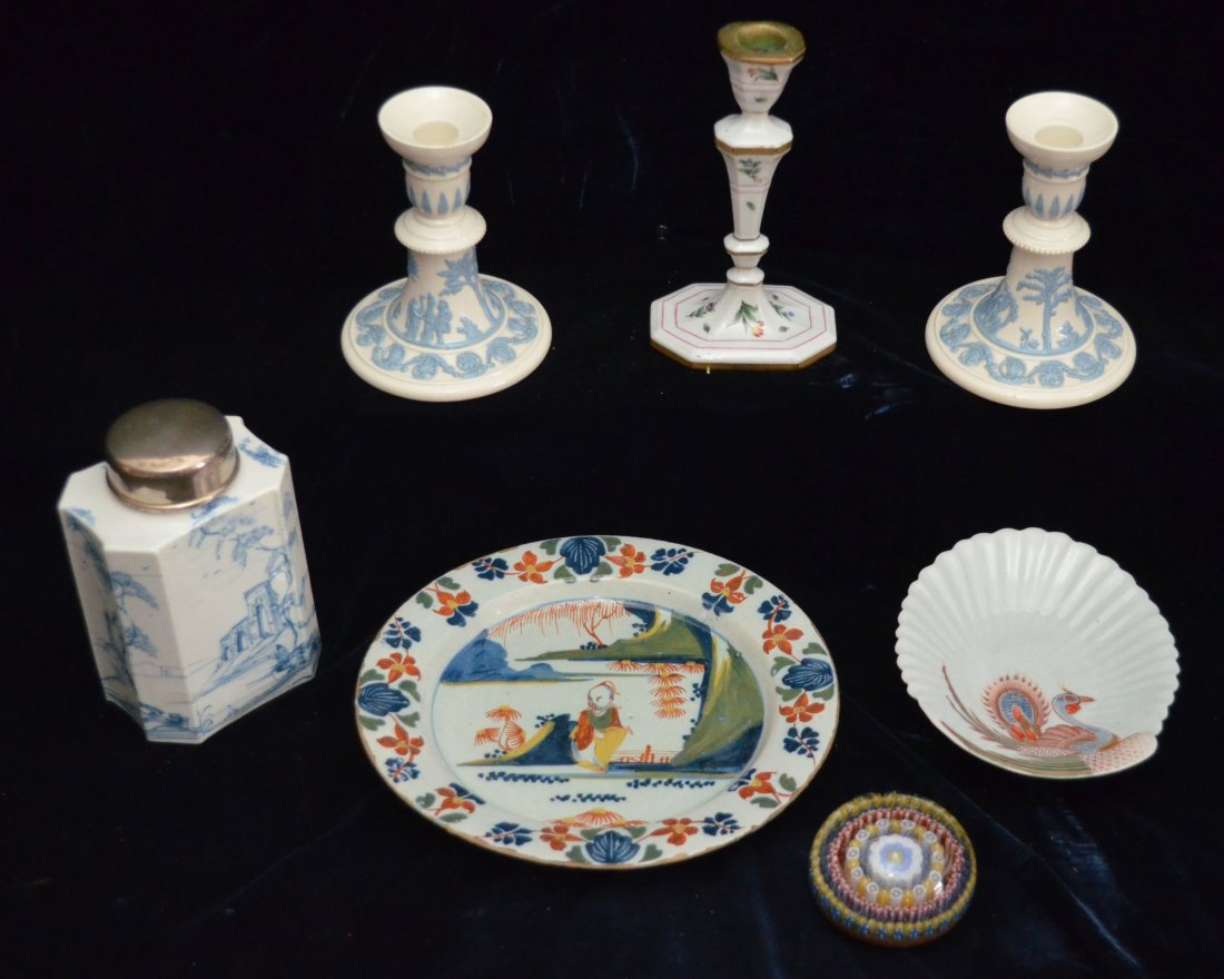 Lot of Continental porcelain