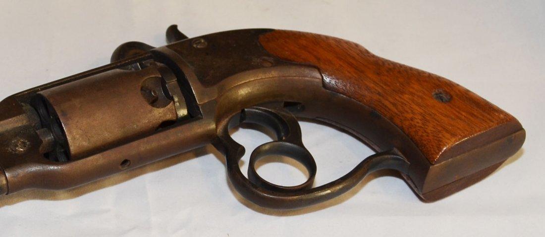 Civil War Navy Savage Black Powder Revolver - 4