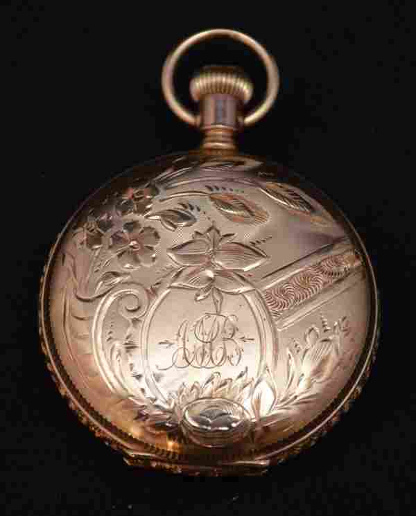 Elgin Ladies 14k Gold Pocketwatch