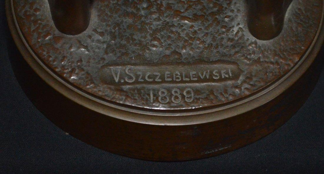 V. Szczeblewski  Bronze Boy Statue 1889 - 5
