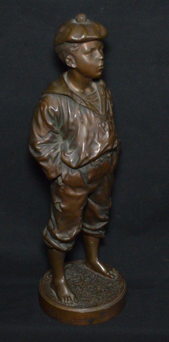V. Szczeblewski  Bronze Boy Statue 1889 - 6