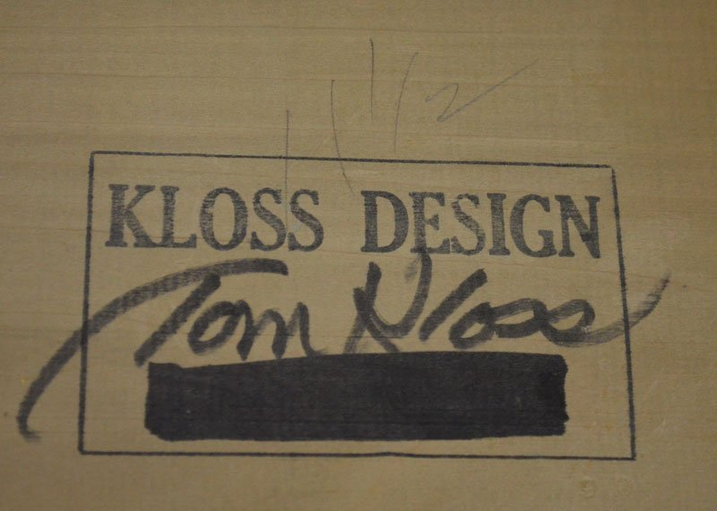 Whimsical Tom Kloss Designs Carved  Wooden Bird - 5