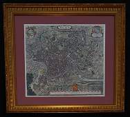 Willem Janszoon Blaeu C Mortie Map of Rome