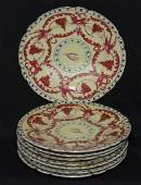 Set Of 8 Royal Vienna Painted Porcelain Plates