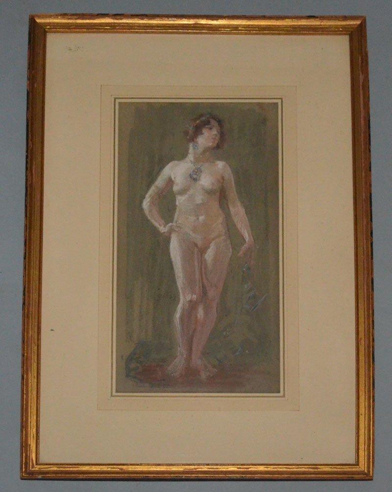 Troy Kinney Salome Pastel Nude Painting