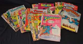 38 Vintage Estate Found Comic Books