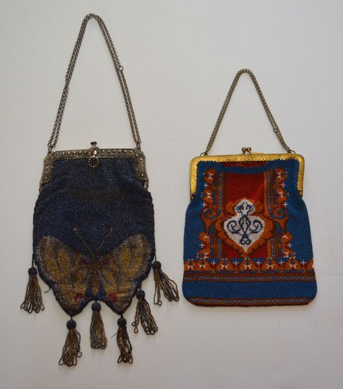 The Best Beaded Purses (Butterfly & Cipher)
