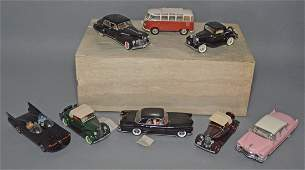 8 Franklin Mint Model Collector Cars
