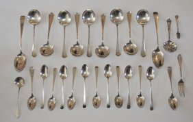 Generous Lot Of Sterling Silver Spoons