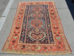 Antique Turkoman Oriental Carpet