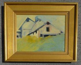 Geoffrey Moss Berkshire Ark Oil Painting