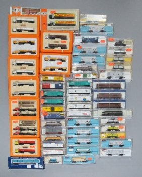 54 N Scale Nato, Atlas, Con-cor Model Trains