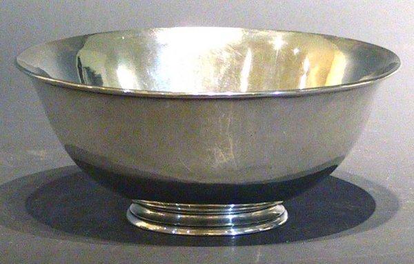 9: Arthur Stone Huge Sterling Silver  Bowl ( Taylor)