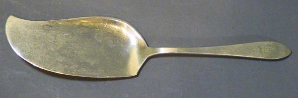 18: 1937 Tiffany & Co. Sterling Reeded Edge Server
