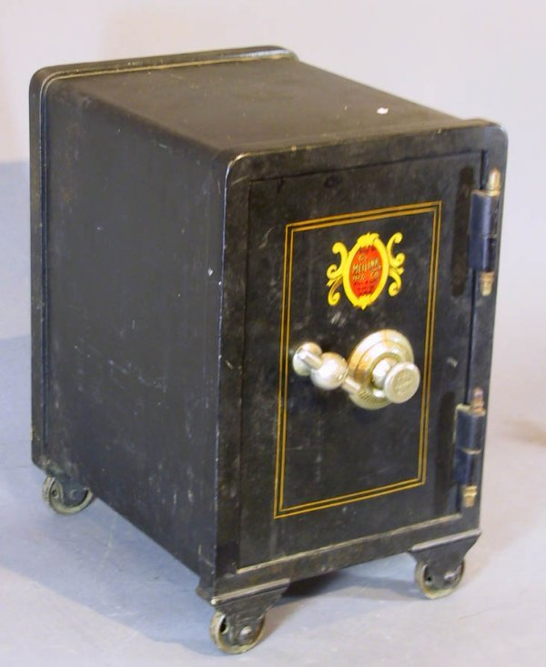 157: Small Antique Safe The Meilink Safe Co.Toledo Ohio
