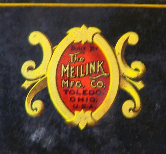 157: Small Antique Safe The Meilink Safe Co.Toledo Ohio - 3