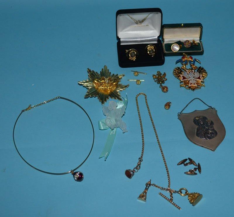 Russian & Misc Jewelry (Daum, Imperial Eagle etc)