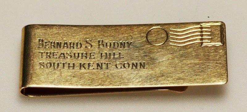 14k Gold Tiffany & Co Money Clip