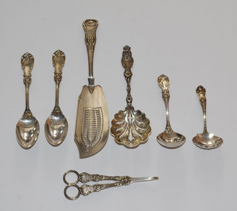 7 Misc Sterling Silver Serving Pieces