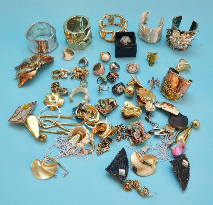 Huge Group of Costume Jewelry