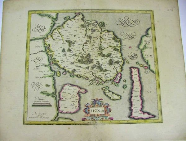 40: Lot of 4 Antique Continental Maps