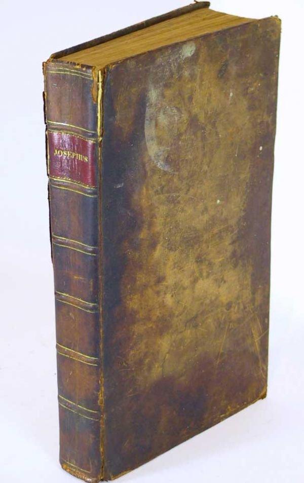 42: Works of Flavius Josephus Jewish Historian 1792
