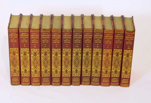 45: Complete Works of Abraham Lincoln Nicolay / Hay