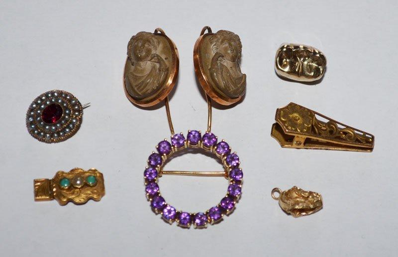 Little Hidden Victorian Gold Trinkets & Treasures