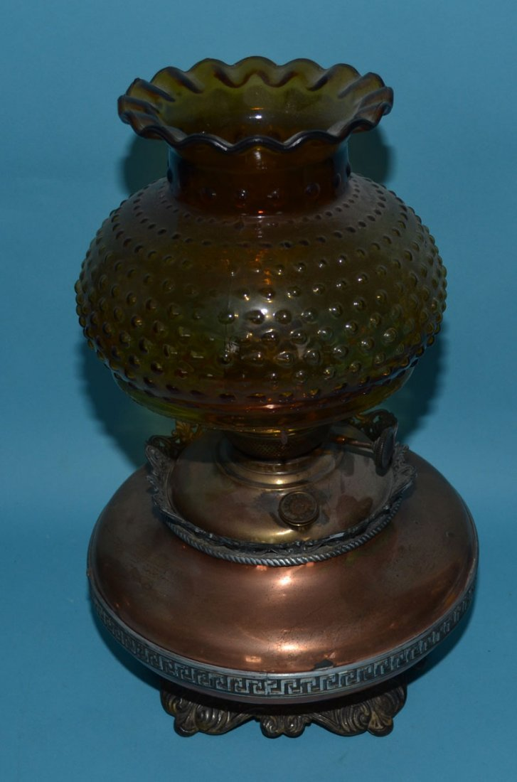 2 Oil Lamps Including Bradley & Hubbard - 4