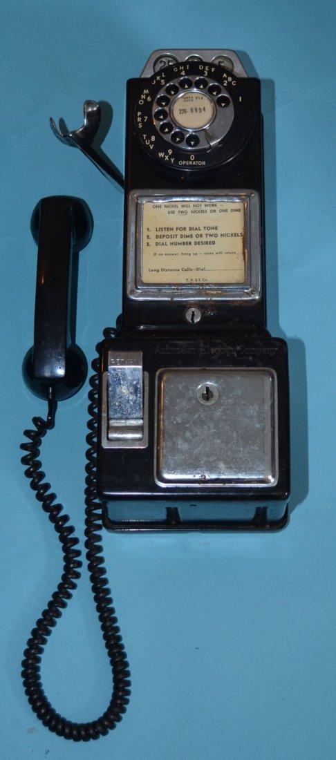 2 Retro Phone Booth Pay Phones - 2