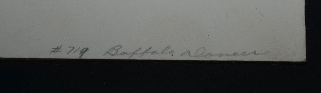 Signed Woody Crumbo Original Silkscreen - 4
