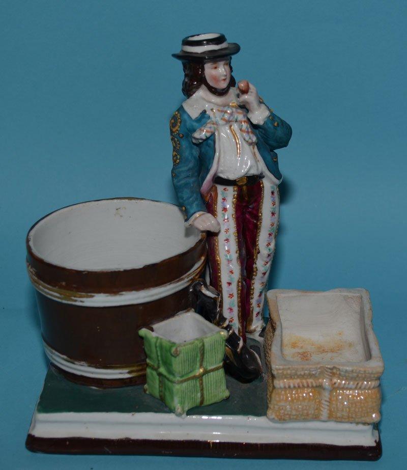 8 Vintage Bisque & Porcelain Figurines - 4