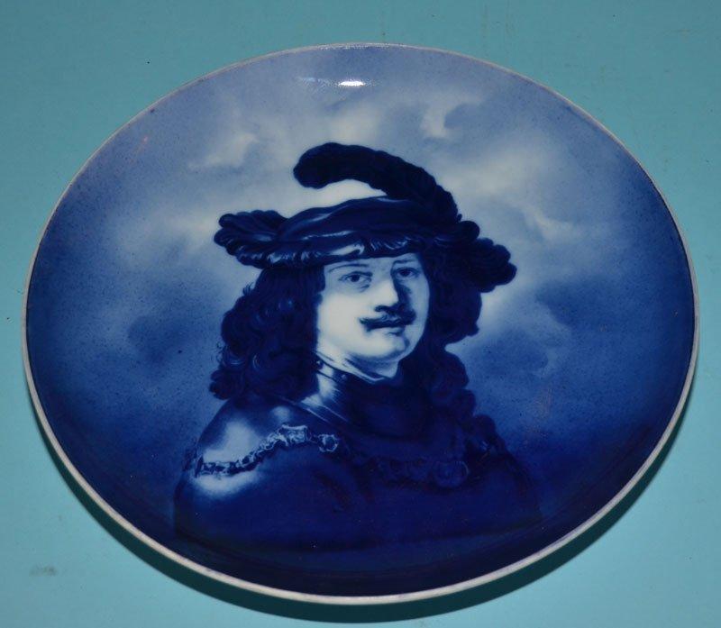 China & Pottery Lot inc. Portrait Plates - 6