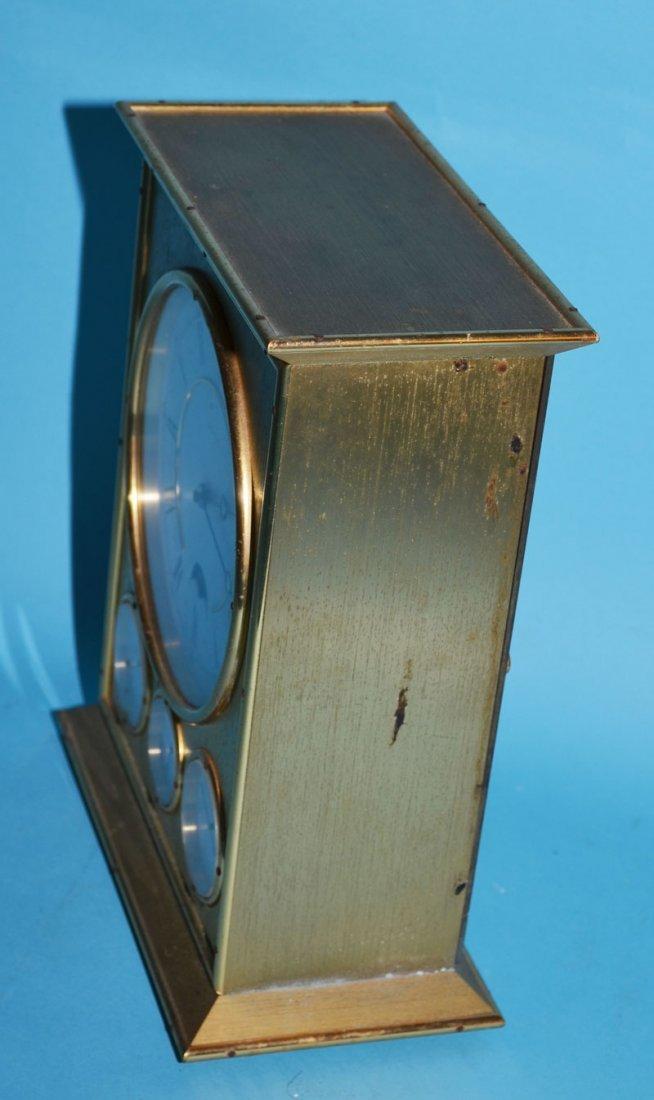 Tiffany & Co Brass Clock with Calendar - 4