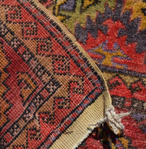 Great Geometric Oriental Carpet / Rug - 4